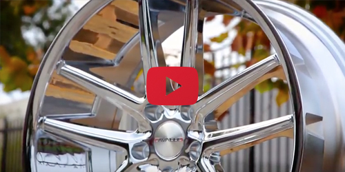 Cavallo CLV-4 Chrome | Wheel Showcase
