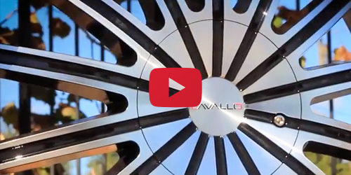 Cavallo CLV-6 Black Machined | Wheel Showcase