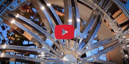 Cavallo CLV-7 Chrome | Wheel Showcase