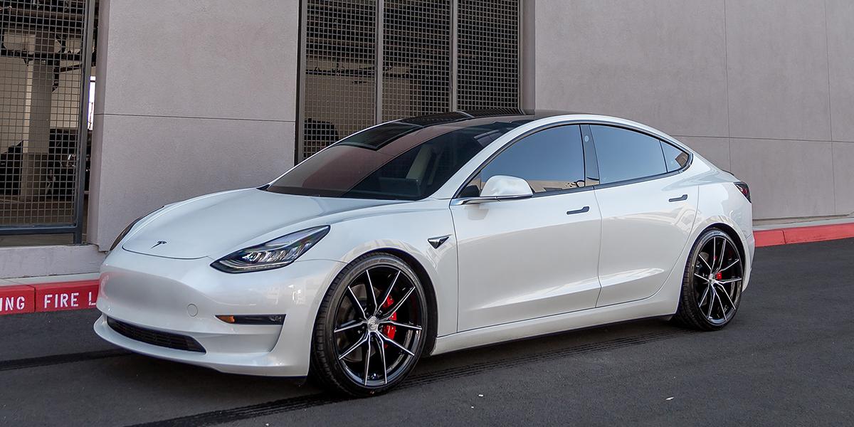 Tesla 3 FFT107 Gallery - Perfection Wheels