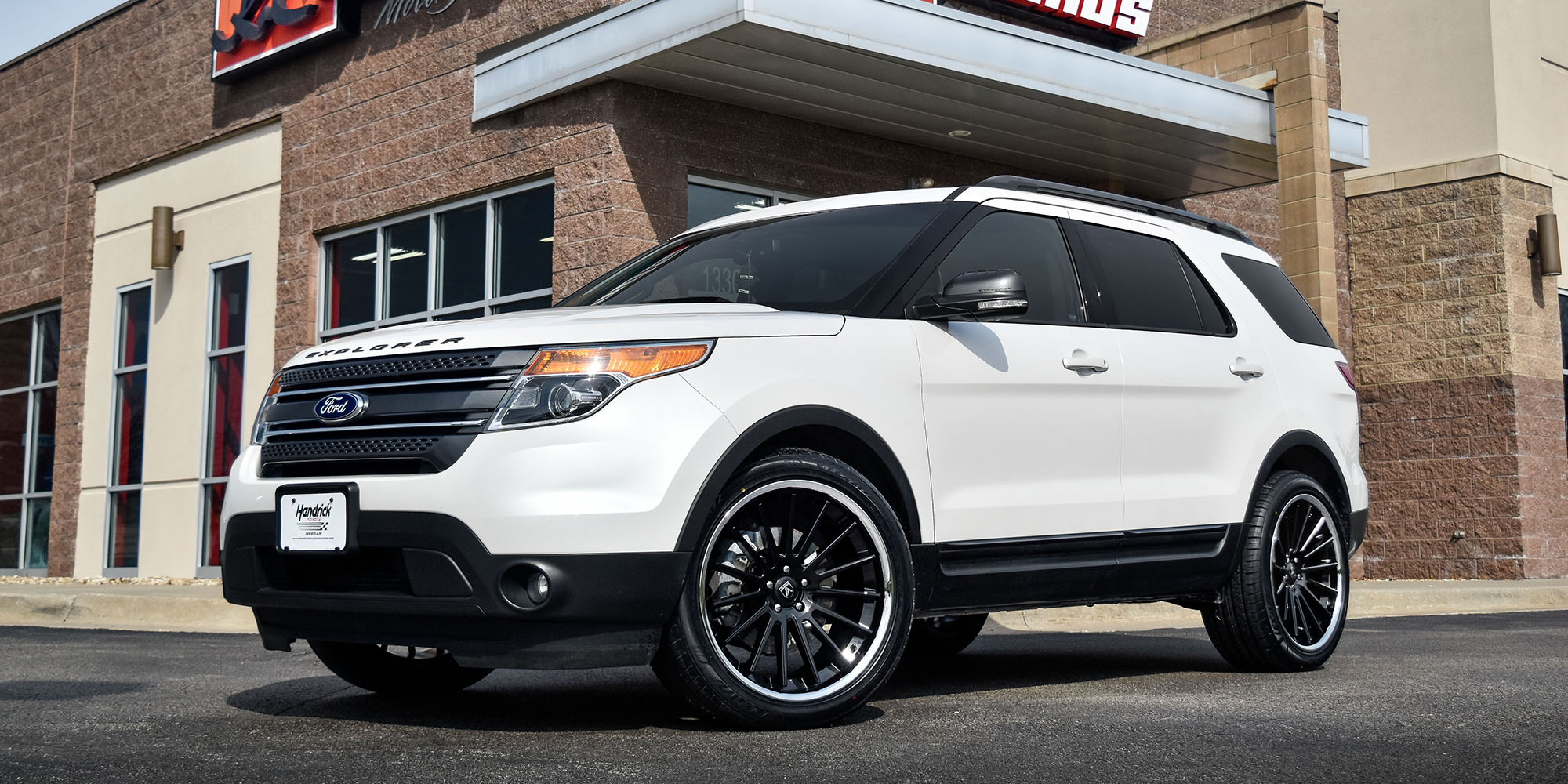 Ford Explorer with Asanti Black Label ABL-24 Beta