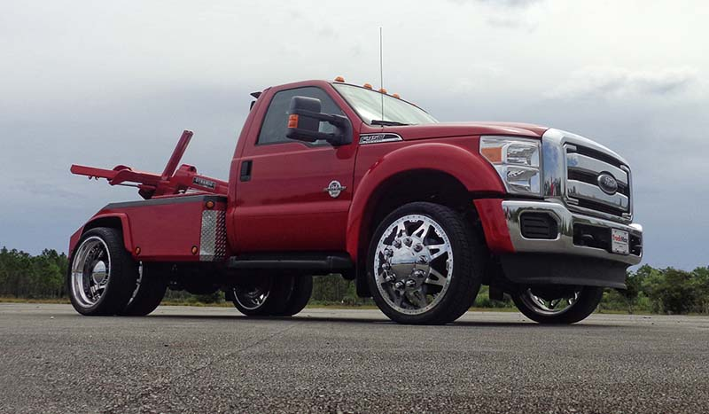 Ford F-450 Super Duty Dual Rear Wheel Tow Truck