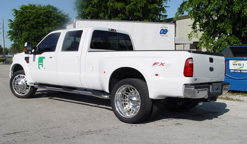 Ford F-350 Super Duty Dual Rear Wheel Dual Rear Wheel 9 Liberty DRW