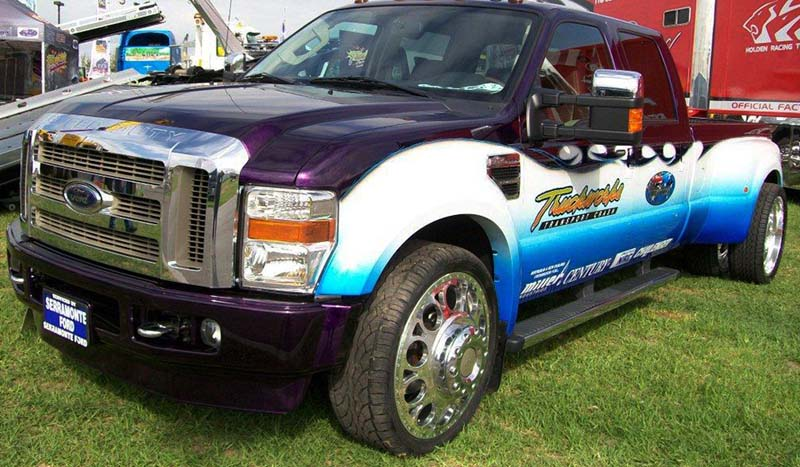 Ford F-450 Super Duty Dual Rear Wheel