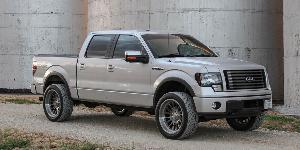 Ford F-150 with Asanti Off-Road AB815 Workhorse