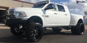 Renegade - D265 on Dodge Ram 3500 Dual Rear wheel