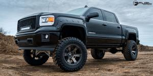 Beast - D564 on GMC Sierra 1500
