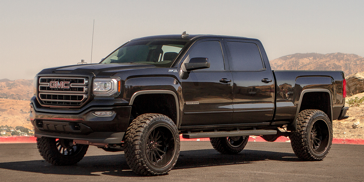 GMC Sierra with V Rock Off-Road VR11x Anvil