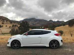 Hyundai Veloster with Platinum 440 Smooth Trip