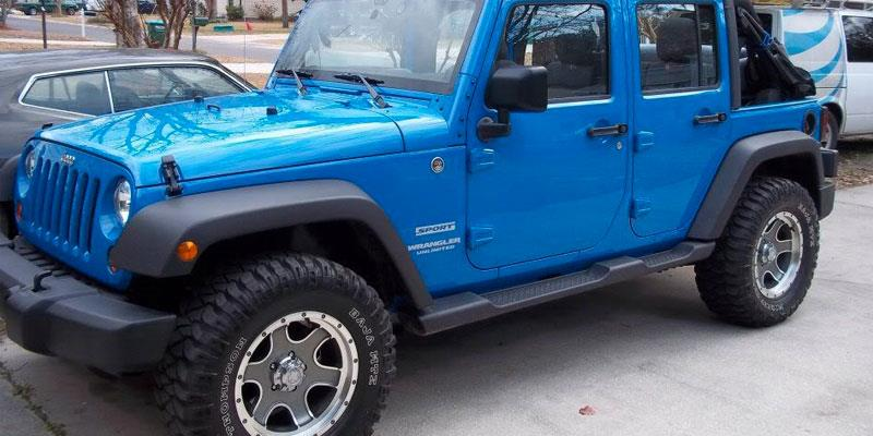 Jeep Wrangler SUBJECT TO AVAILABILITY 173/174 Nomad