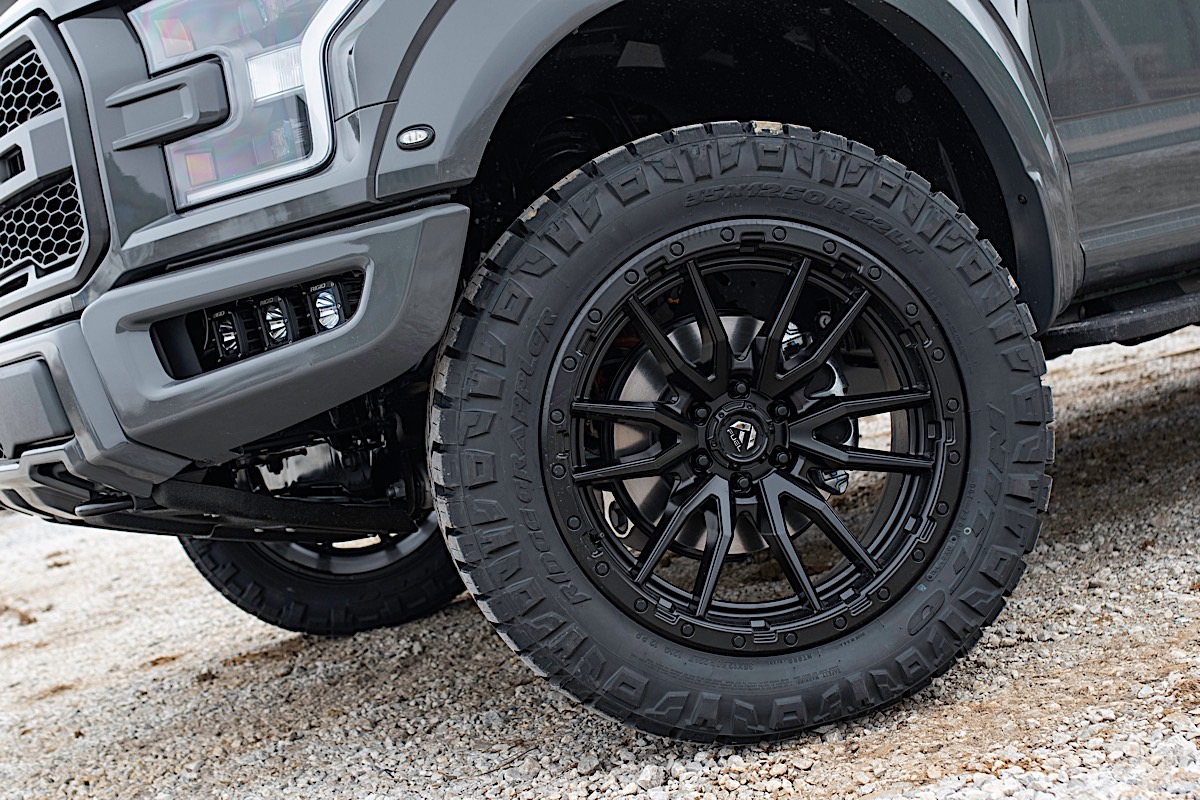 Ford Raptor with Fuel 1-Piece Wheels Rebel 6 - D679