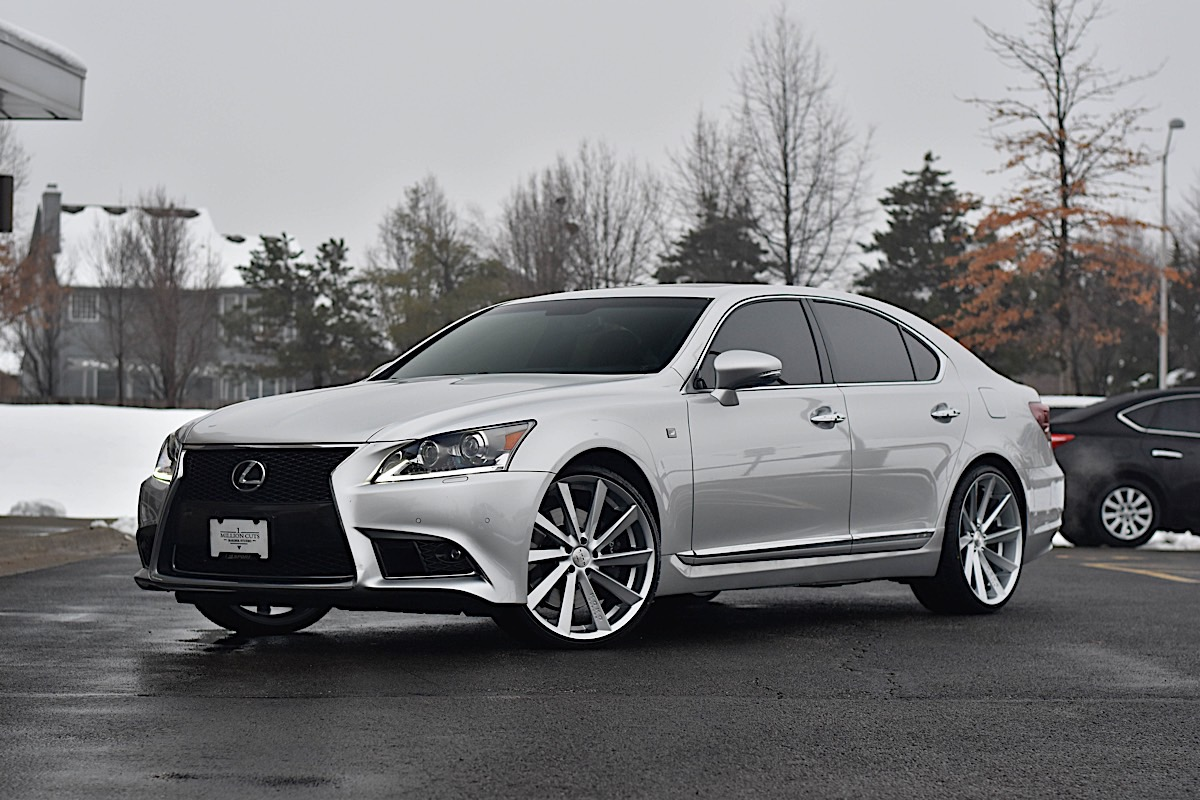 Lexus LS460 with