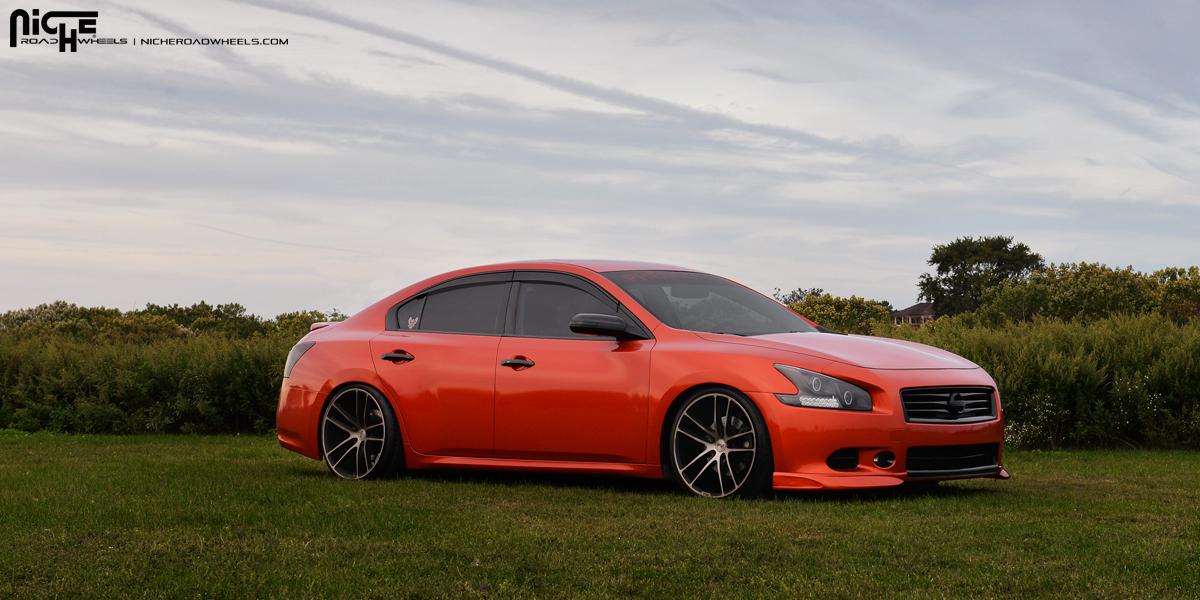 Custom Nissan Maxima >> Nissan Maxima Enyo M115 Gallery Tire South