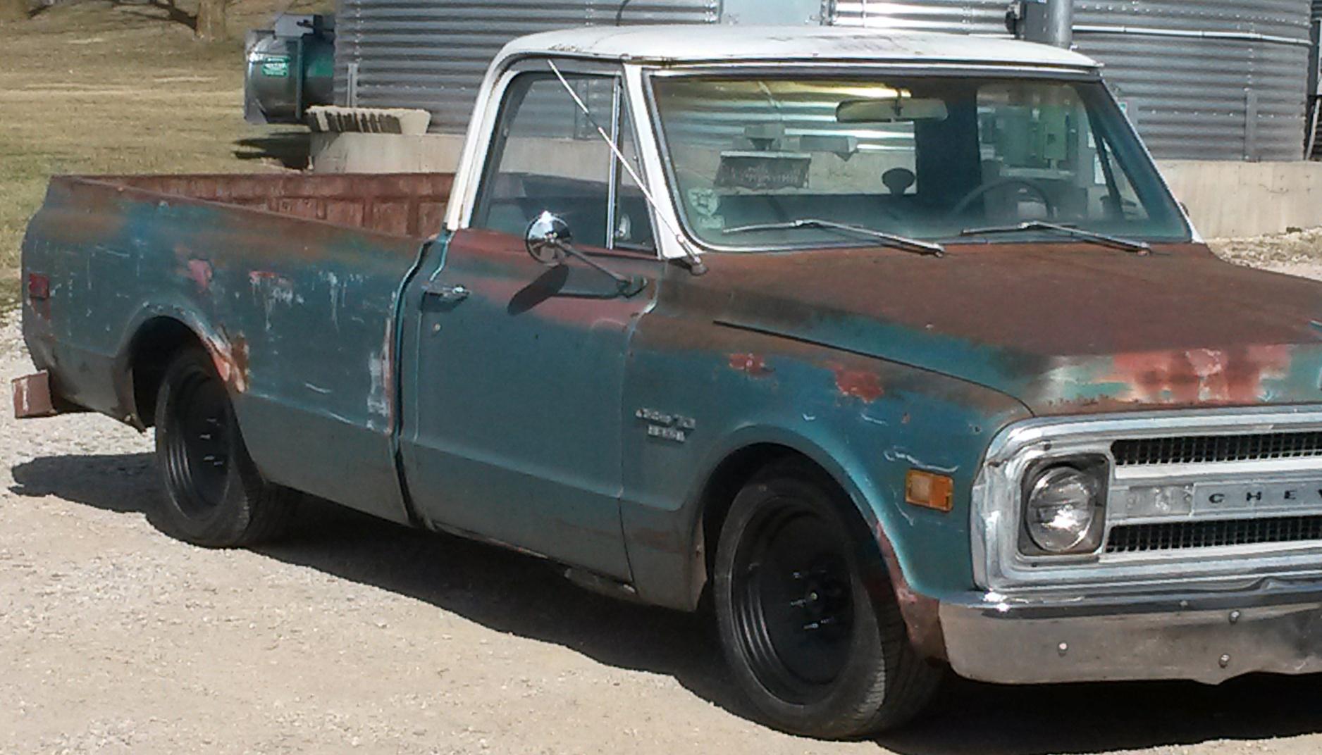 Chevrolet C10 Rat Rod (Series 68) Gallery - U.S. Wheel Corp.