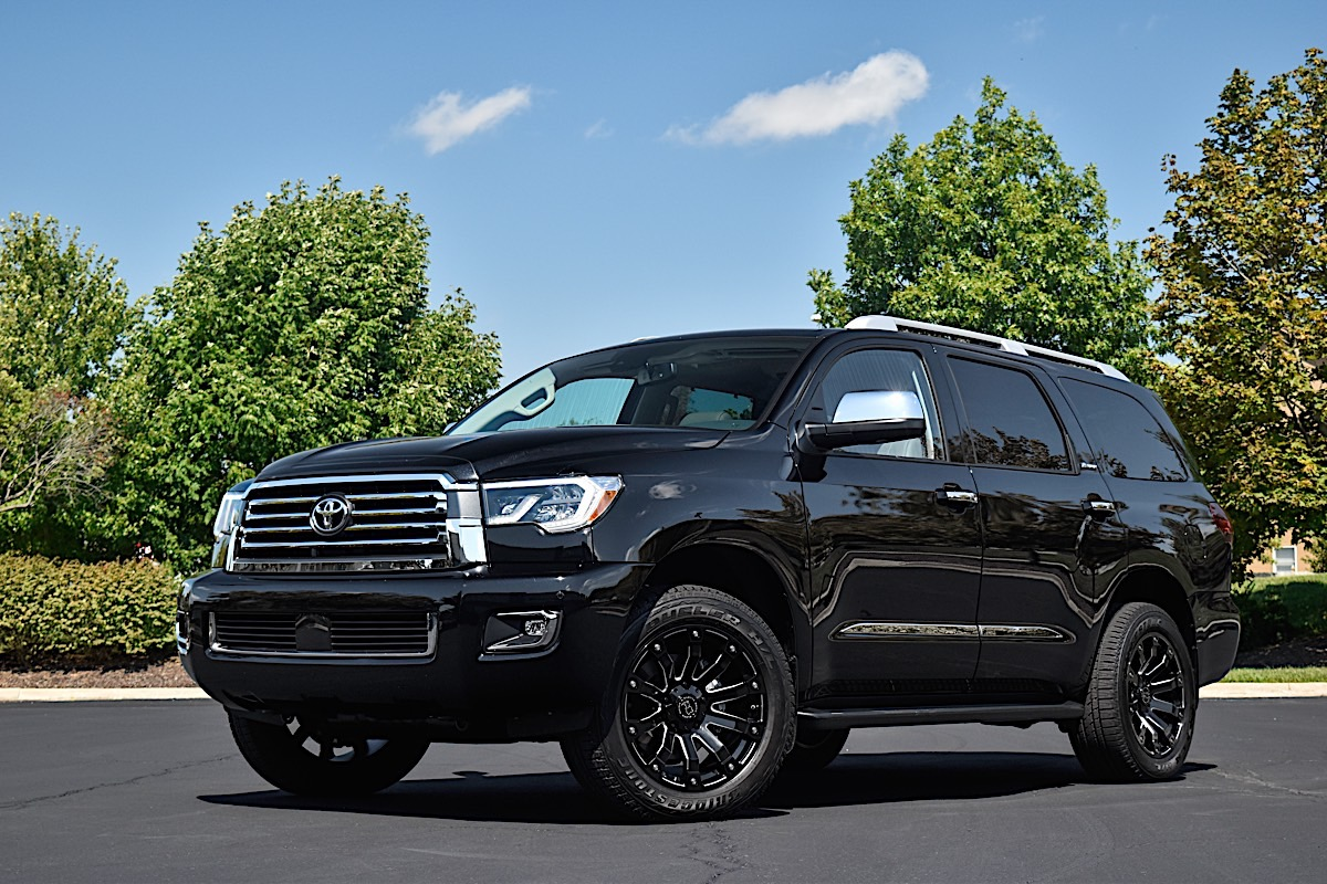 Toyota Sequoia with Black Rhino Selkirk