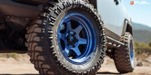 Toyota FJ Cruiser with Fuel 1-Piece Wheels Shok - D739