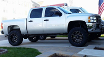 Maverick - D537 on Chevrolet Silverado 1500