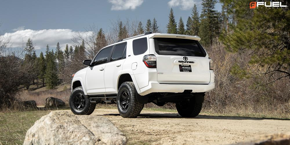 Toyota 4Runner with Fuel 1-Piece Wheels Rush - D766
