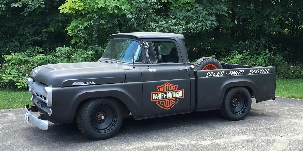 Ford F-150 Rat Rod (Series 68) Extended Sizing