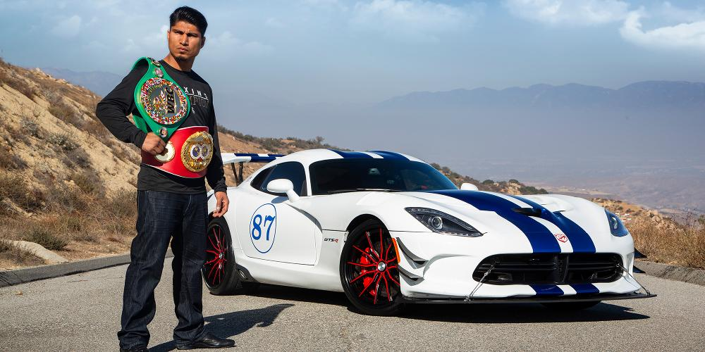 Mikey Garcia with
