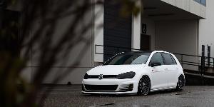 Volkswagen GTI with Rotiform RSE