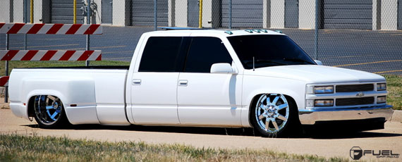 Fuel 2.pc Dually Series | Slammed Chevy