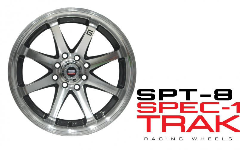 Spec-1 Trak Racing Wheels: SPT-8