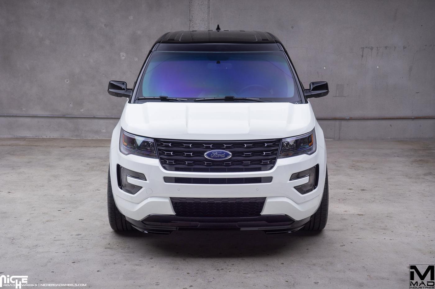 Custom Ford Explorer >> 2016 Ford Explorer Mad Industries Niche Alpine Mht Wheels Inc