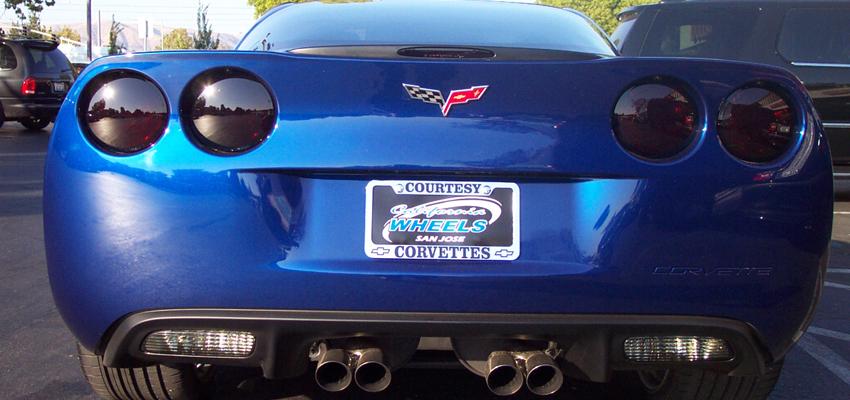 Taillight Tinting | California Wheels