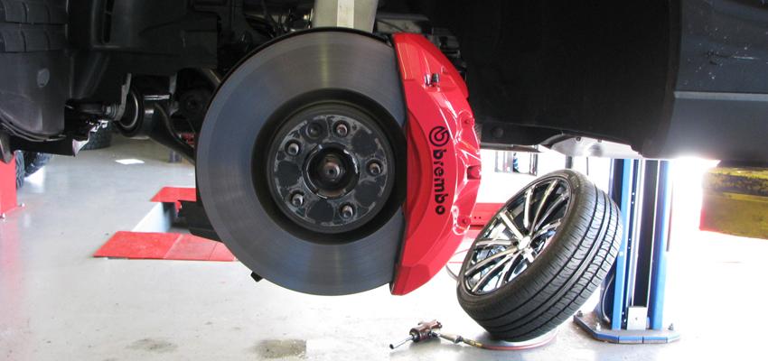 Brake Caliper Painting | California Wheels