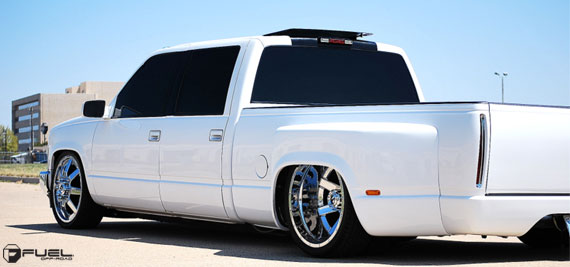 Fuel 2.pc Dually Series | Slammed Chevy - MHT Wheels Inc.