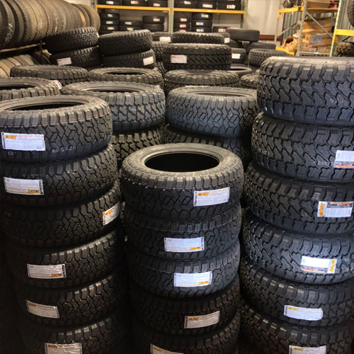 Tire South has a huge inventory of tires