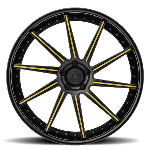 CX853 in Black w/ Yellow Accents