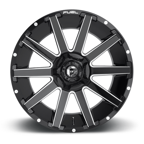 Fuel 1-Piece Wheels Contra - D615