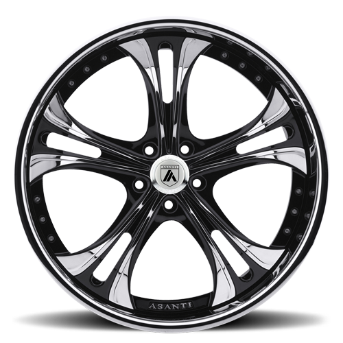 DA189 in Black and Chrome