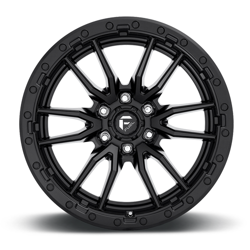 Fuel 1-Piece Wheels Rebel 6 - D679