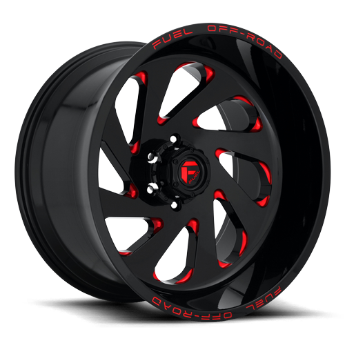 Fuel 1-Piece Wheels Vortex - D638
