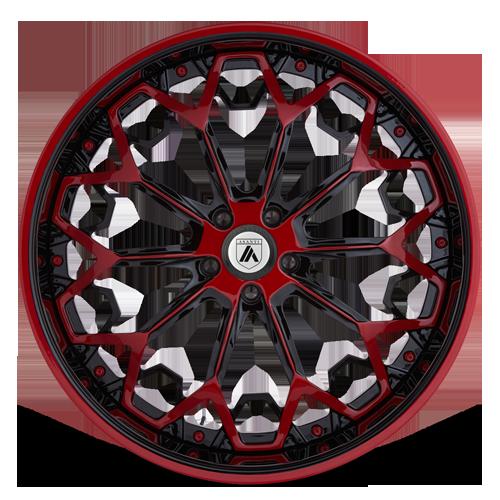 AF829 in Red and Black