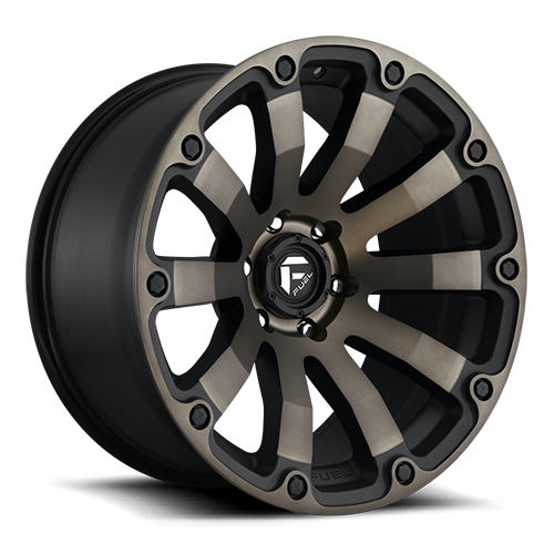 Fuel 1-Piece Wheels Diesel - D636