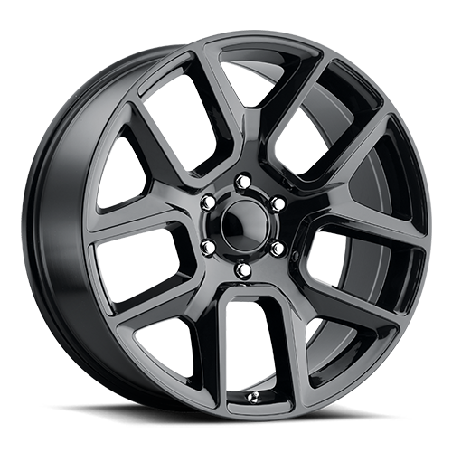 2019 Ram 1500 Replica Wheel 22x9 +18 Gloss Black (QTY 1