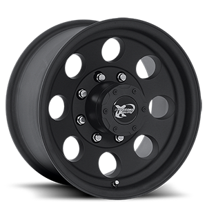 69 Series Matte Black 8 lug