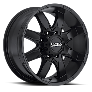 225 Phantom Satin Black 8 lug