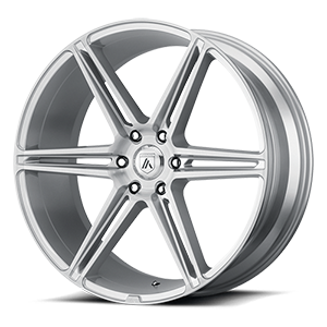 ABL-25 Alpha 6 Brushed Silver 6 lug