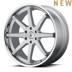 Asanti Wheels - ABL-32 Kaiser Silver with Chrome Lip 6 lug