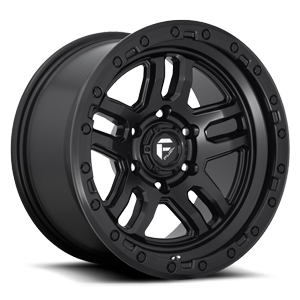 Fuel 1-Piece Wheels Ammo - D700 5 Matte Black