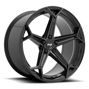 Arrow - M258 Gloss Black 5 lug
