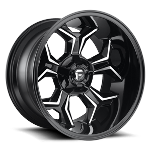Fuel 1-Piece Wheels Avenger - D606 5 Gloss Black & Milled