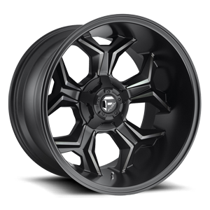 Fuel 1-Piece Wheels Avenger - D605 5 Matte Black/Machined/DDT