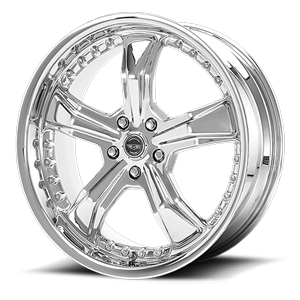 American Racing Custom Wheels AR698 Razor 5 Chrome
