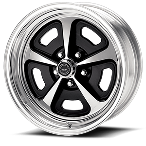 VN500 Custom 500 Two-Piece Painted Center w/ Polished Barrel 5 lug